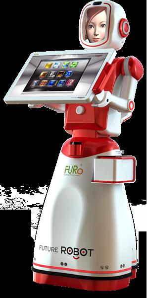 FURo, le robot-hôtesse de Future Robot